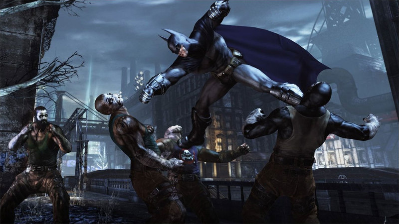 """Stay back, Batman: Arkham City, with your far superior combat system!"""