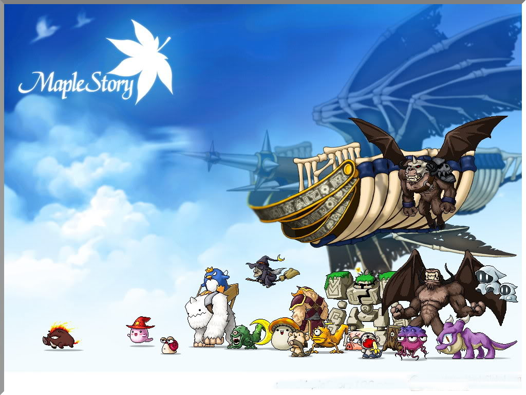 MapleStory featured crisp, Anime-like graphics, which was what originally caught my attention.