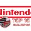 nintendo top 10