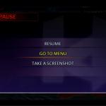 In-Game Pause Menu