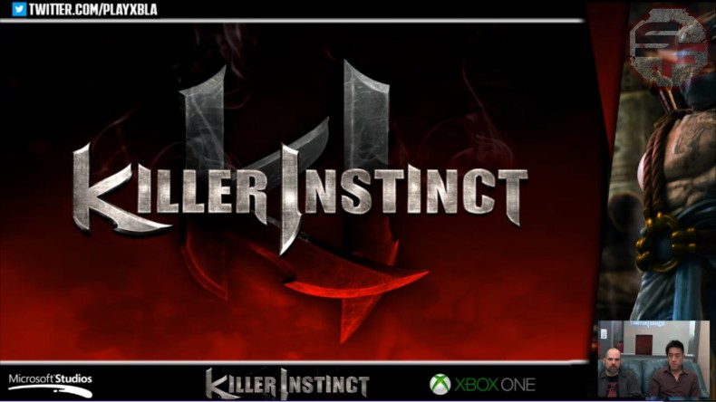Killer Instinct logo/title screen