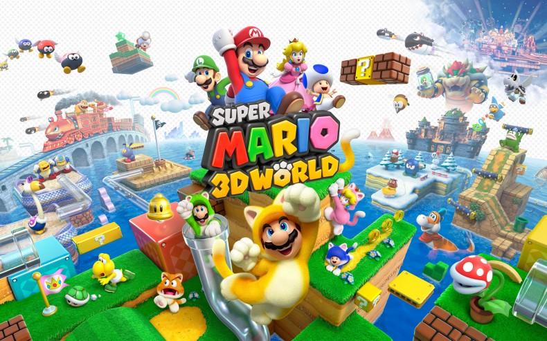 Super Mario 3D World HD Wall Paper