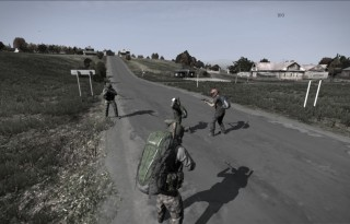 Bandits robbing a lone player