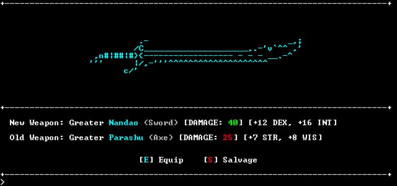 SanctuaryRPG, the Popular ASCII-Art RPG Hits Greenlight - SpawnFirst