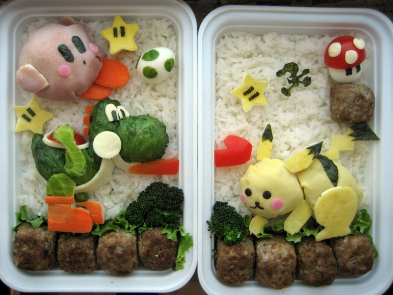 Video Game Bento Box