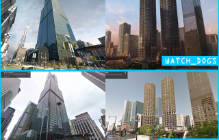 Watch Dogs versus Real Life Chicago