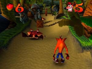 Crash Bandicoot (pSX emulation)