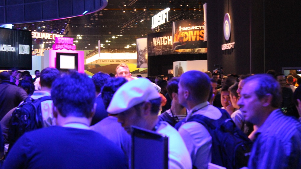 E3 2013 Crowded