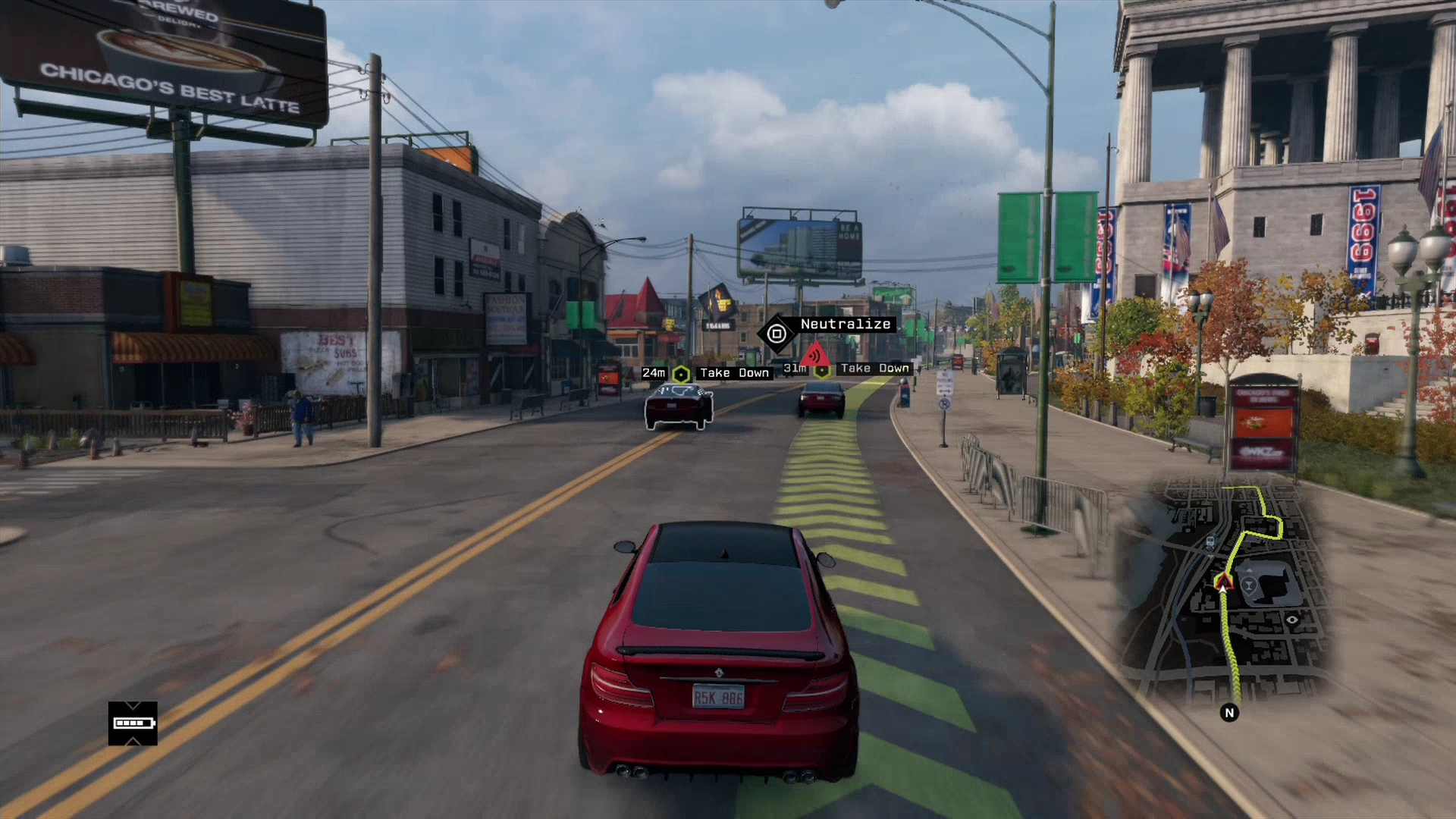 Watch Dogs  Shooting While Driving