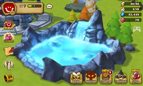 summoners war tips pond